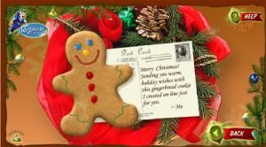 16 Places to Find Fabulous and Free Christmas Ecards: Gingerbread Cookie by Regards.com