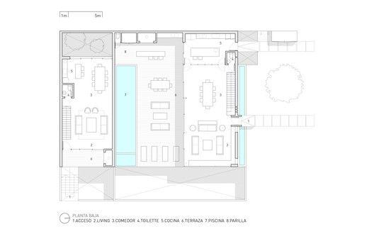 Gallery Of La Iluminada House Martin Gomez Arquitectos 25 Martin House House Plans Ground Floor Plan