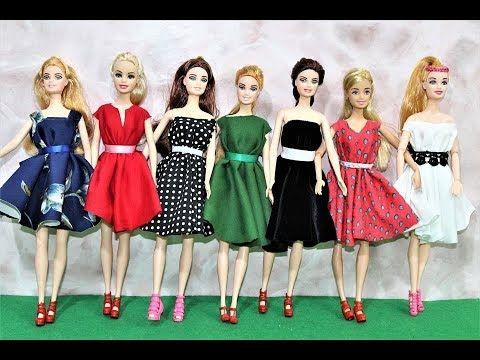 Kinderspielzeug لعبة تفصيل فساتين العرايس بدون خياطة العاب بنات العاب عبير Summer Dresses Fashion Style
