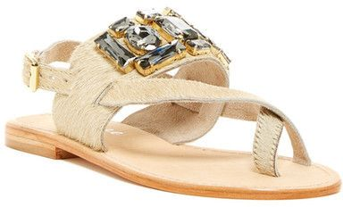 Matisse Jules Genuine Cow Hair Sandal
