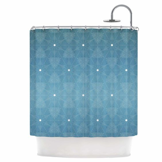 Celestial Shower Curtain | Curtains, Shower curtains and Showers
