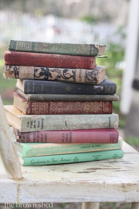 A stack of books makes me smile.