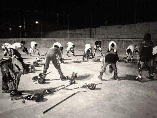 Cuauhtemov Hockey Club Chiapas un dia de entrenamiento