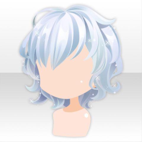 Hairstyle Chibi Hair Character Design Short Hair Blue
