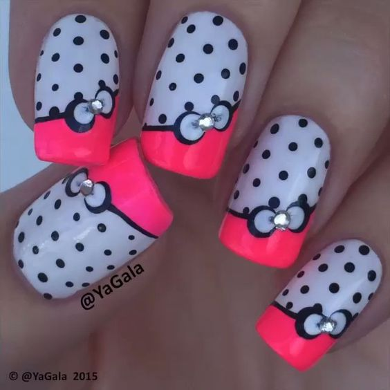 """Gorgeous Nails by @yagala"""