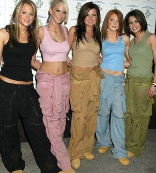 Image result for combat pants girls 90s