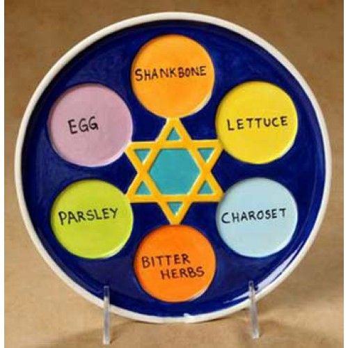 Image result for color me mine seder plate