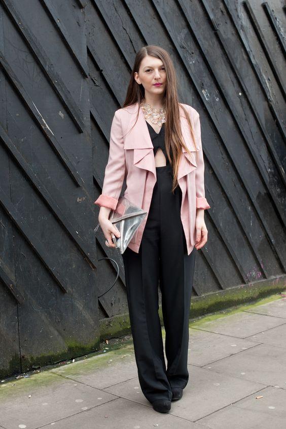 Look дня: Магда Миклав - стилист. Пиджак: Sheinside, Костюм: Primark, Ожерелье: Primark, Обувь: H&M, Сумка: H&M.