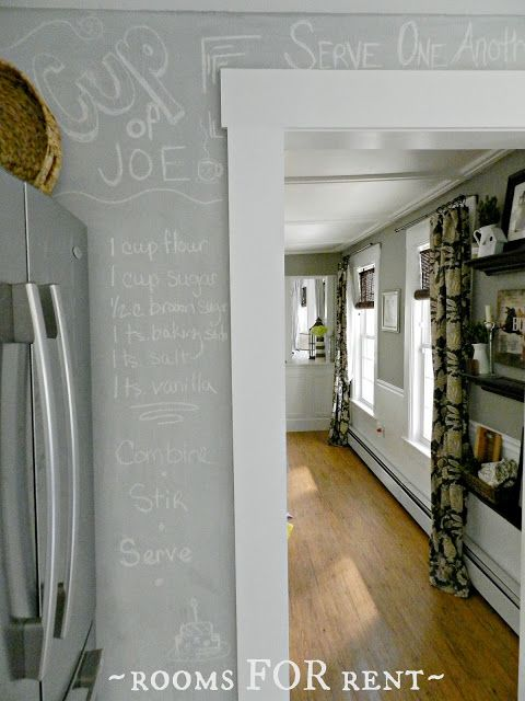 ~rooms FOR rent~: Making your own Chalkboard Paint in any color