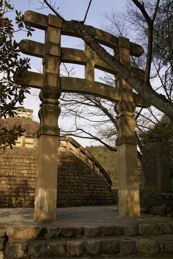 "*Kyoto, Kansai, Japan* ""Temple gate and stupa.""  