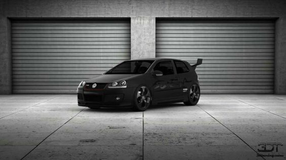 Vw tuning car polo