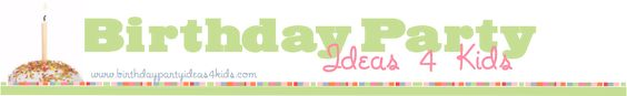 """""""Birthday Party Ideas 4 Kids"""" website...take the craziness out of planning bithday parties, with themes, games, activities, invitations and a section for sleepovers! YAY!"""