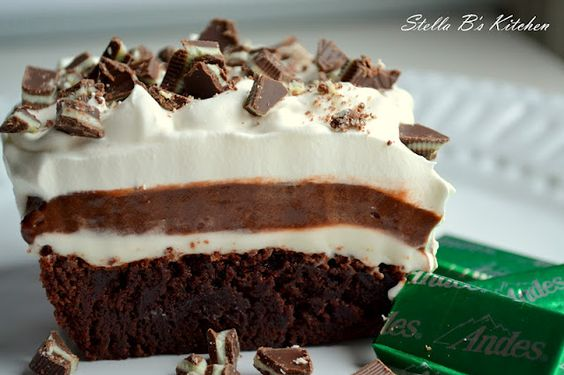 Mint Brownie Delight