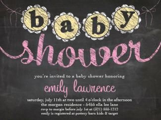 Buy Baby Shower Invitation Cards Online
