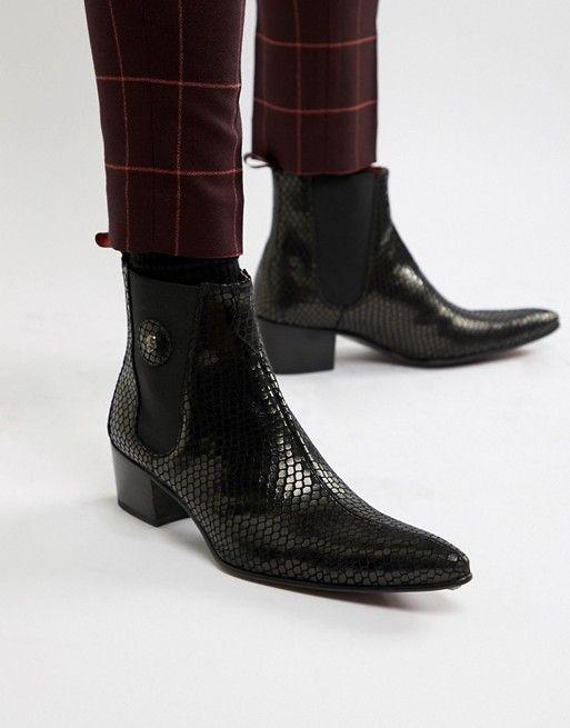Jeffery West Sylvian cuban boots in