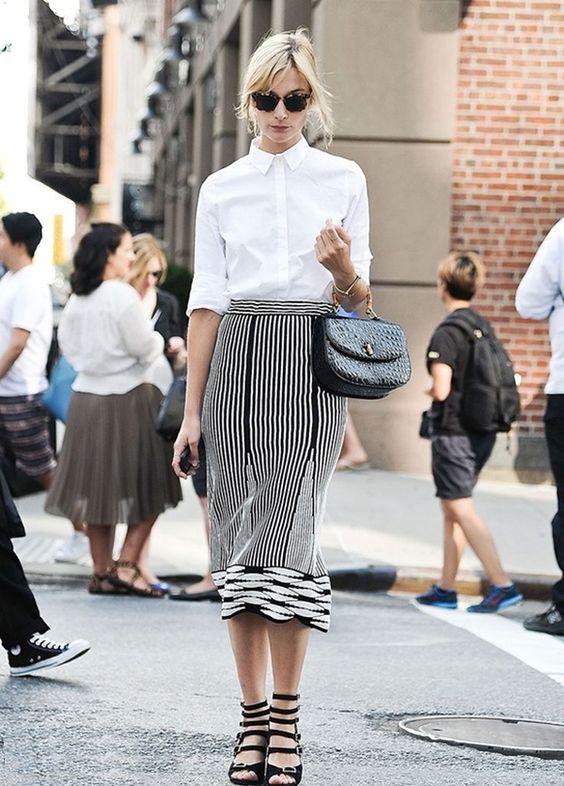 Como adotar uma camisa branca para um office look mais formal