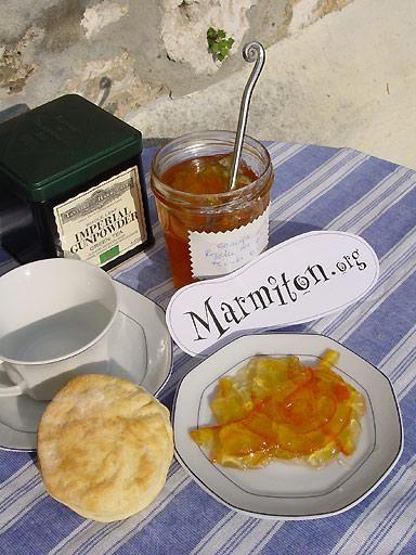 Recette Marmelade d oranges amères de mon grand-père