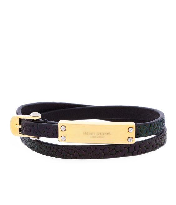 Rivington Metal Wrap Bracelet Jewelry Henri Bendel Jewelry