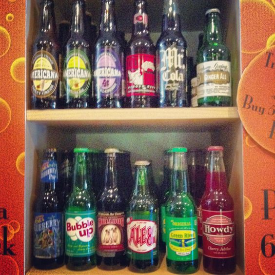 Found this pinned already - Homer Soda Company display!