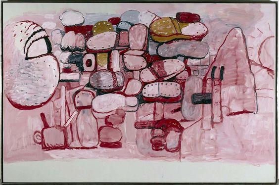 Philip Guston. Confrontation, 1974.