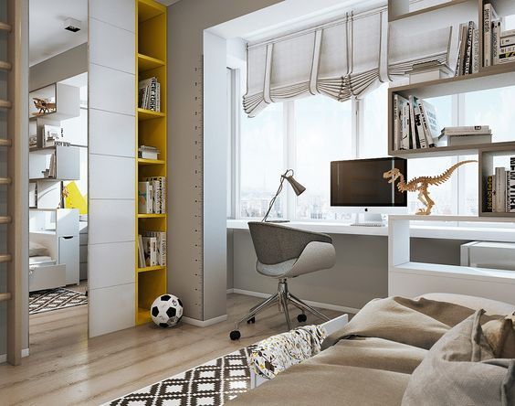 Two Efficient Apartments For Families With Two Children | Interior ...