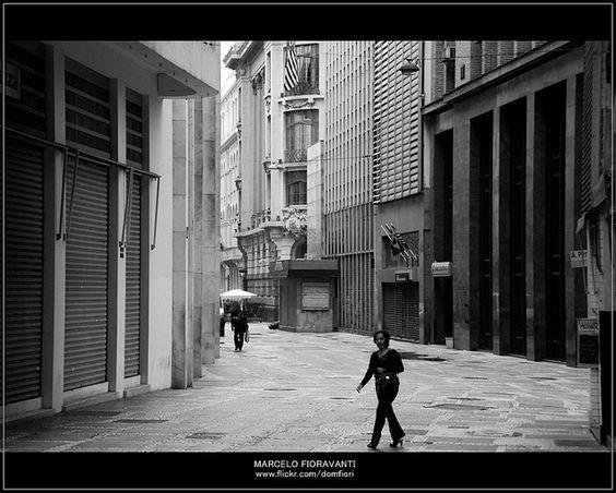 Rua Alvares Penteado by Marcelo Fioravanti, via Flickr
