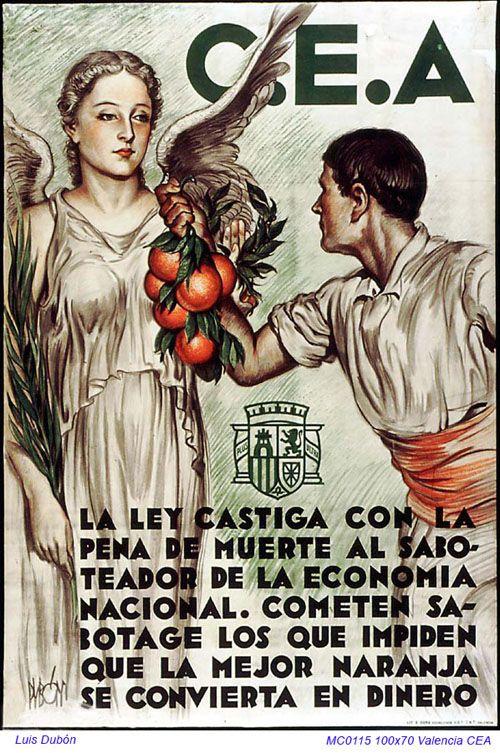 Spain - 1936. - GC - poster - autor: Luis Dubon Portoles