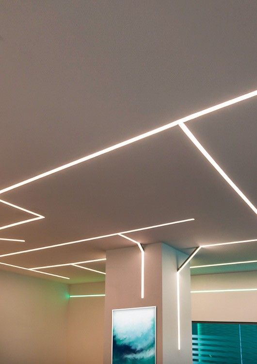 Der Flur 2. Etage, coole Beleuchtung | Coole beleuchtung