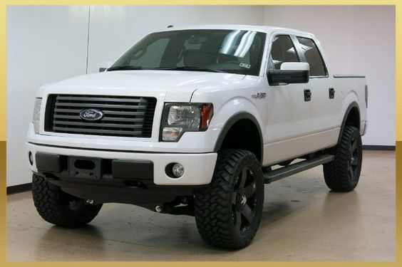 ford fx4 4 inch lift white - Google Search