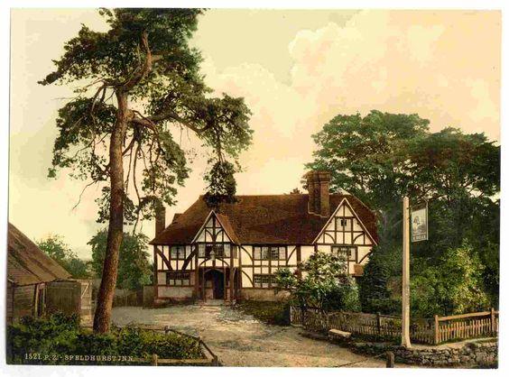new to site Tunbridge Wells, Speldhurst Inn, England