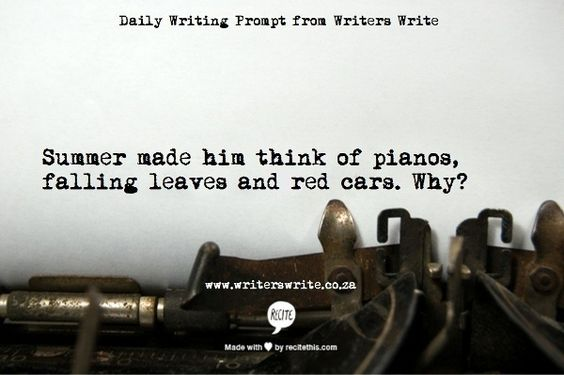 Daily Writing Prompt - Writers Write Creative Blog: