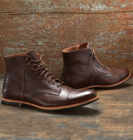 Men's Timberland Wodehouse Cap Toe Boot - Premium Leather Dress ...