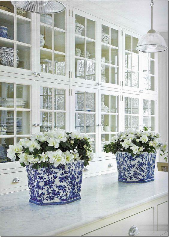 Carolyne Roehm, classic Blue & white:
