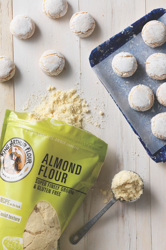 Milled from whole almonds, our fine-textured, certified gluten-free almond flour is full of protein, fiber, and good fats.