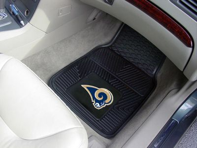 (click twice for updated pricing and more info) St Louis Rams Heavy Duty 2-Piece Vinyl Car Mats 18 #car_mats #nfl_car_mats http://www.plainandsimpledeals.com/prod.php?node=12723=St_Louis_Rams_Heavy_Duty_2-Piece_Vinyl_Car_Mats_18