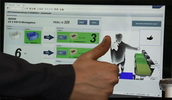 PICK BY MOTION - Live erleben und ausprobieren bei IGZ: Gestengesteuerte Kommissionierung mit SAP E - http://www.logistik-express.com/pick-by-motion-live-erleben-und-ausprobieren-bei-igz-gestengesteuerte-kommissionierung-mit-sap-e/