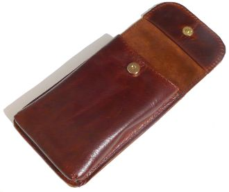 Custom Leather Pen Pouch