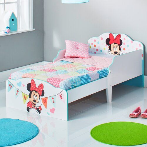 Disney Minnie Mouse Toddler Bed Frame Mickey Mouse Friends