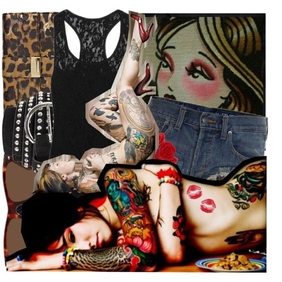 Tattoo You., created by theupstairsroom on Polyvore