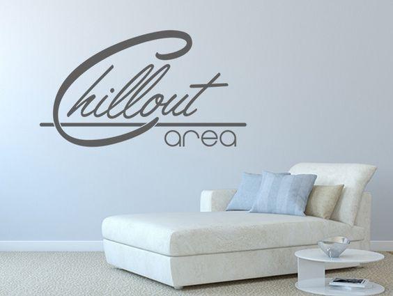 wandtattoo wohnzimmer sprüche chillout area nr 1 | produkte