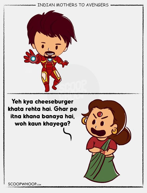 This Is How The Avengers Would've Been Roasted If They Had Desi Moms