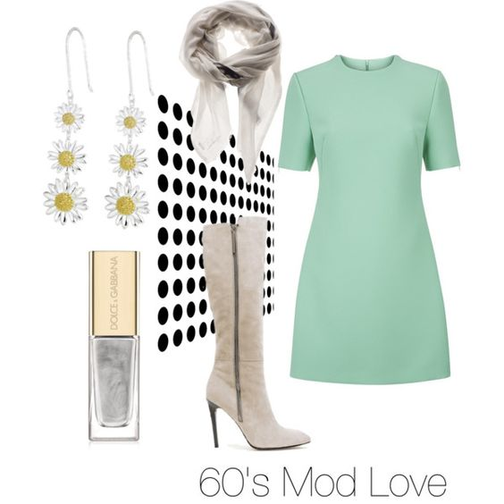 A fashion look from February 2015 featuring shift dress, French Connection and silver jewelry./ Skye Dupree seemed to belong in another era. She adored anything from the early sixties. She was enthralled with Alex's mother CeeCee. Tihere was a picture  framed at her salon. Alex liked to avoid it, and it made Skye sad that she could not appreciate the woman for her talent, not that it was any of her business.
