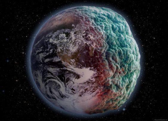 Rotting Earth #Photoshop
