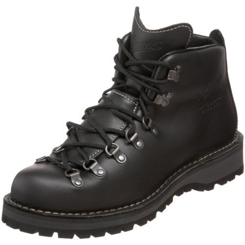 danner men 39 s mountain light ii black gtx hiking boot black 8 5 ee us. Black Bedroom Furniture Sets. Home Design Ideas