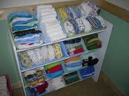 Toy storage unit.  Let's face it, cloth diapers are like toys for some of us.