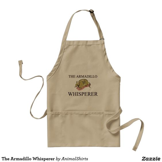 The Armadillo Whisperer Adult Apron