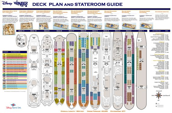 Deck Plans Disney And Cruises On Pinterest