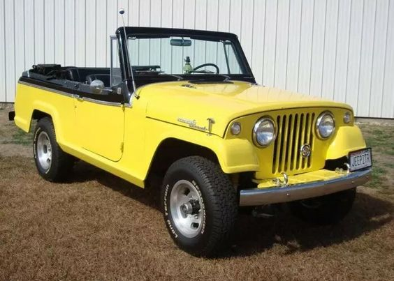 1967 Jeep Jeepster convertible