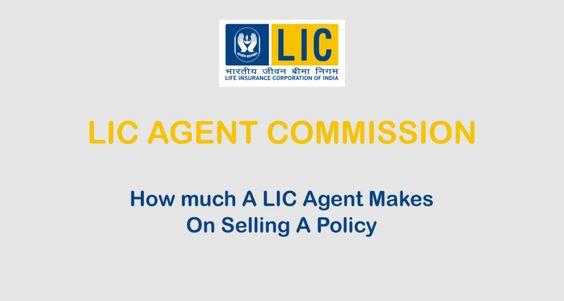 lic agent commission chart lic policy endowment plan