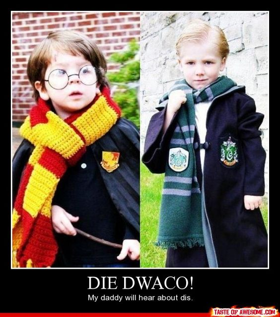 my future kids WILL dress up as hp characters at least ...